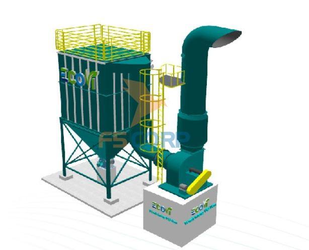 Hệ thống hút bụi túi lọc công nghiệp F5 Eco