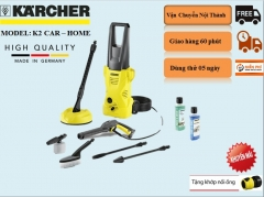 Máy phun rửa áp lực cao Karcher K2 Car & Home