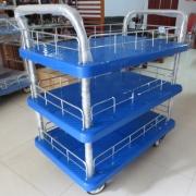 Xe đẩy sàn nhựa 3 tầng Feida FD 150 T3
