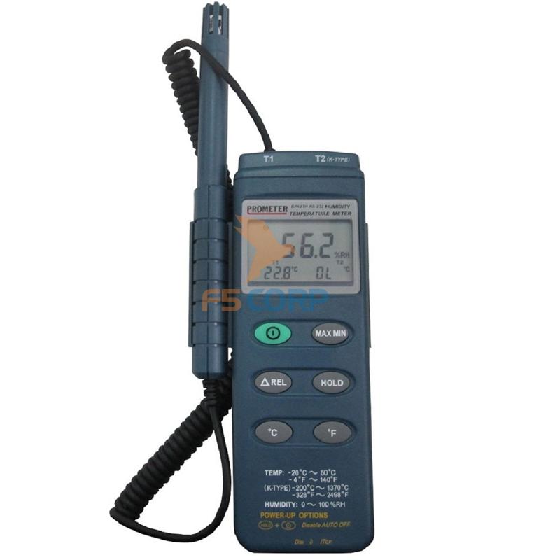 Đồng hồ đo nhiệt độ và độ ẩm Prometer EPA - 27TH