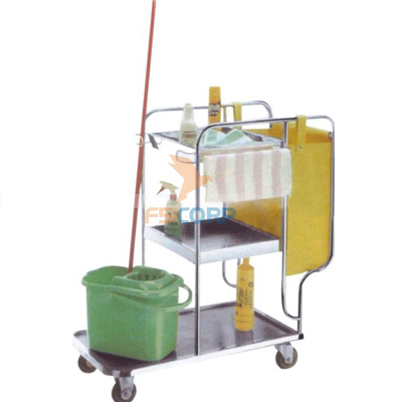 Xe dọn vệ sinh khung inox H9I0A01