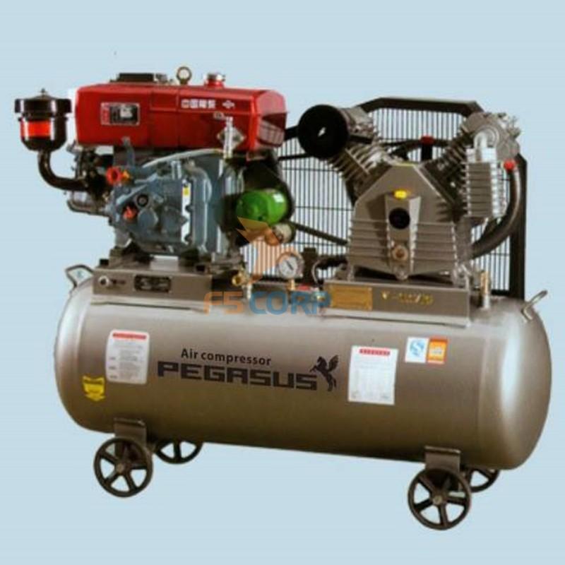 Máy nén khí chạy bằng dầu Diesel Pegasus TM-V-1.05/12.5 - 500L ...