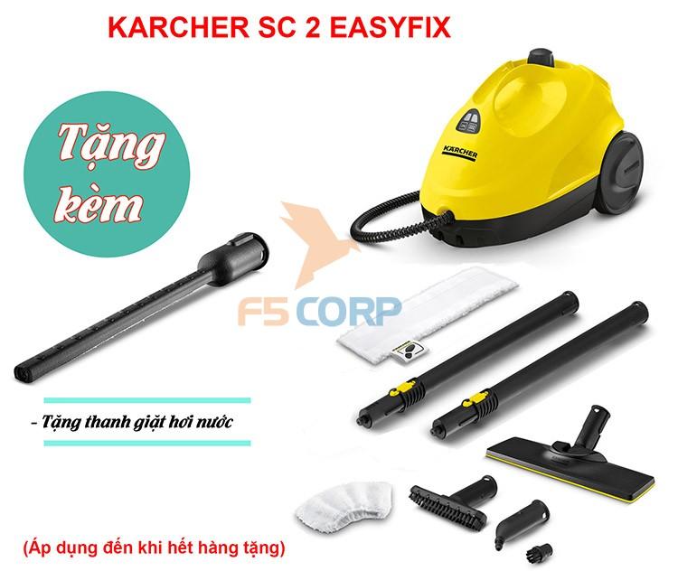 Máy làm sạch bằng hơi nước Karcher SC 2 Easy Fix *EU