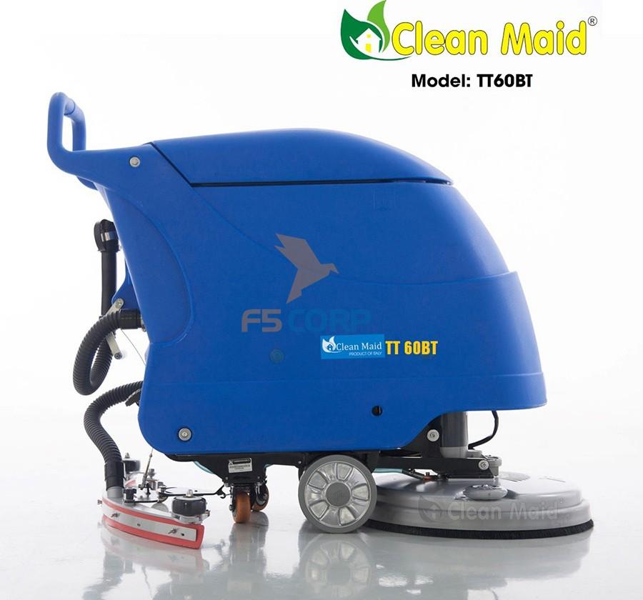 Máy chà sàn liên hợp Clean Maid TT 60BT