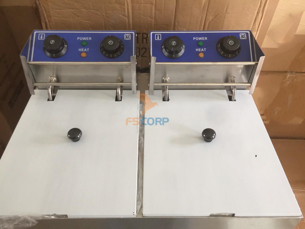 Bếp chiên nhún điện đơn SunChef 8L