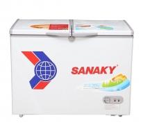 Tủ đông Sanaky hai ngăn dàn lạnh đồng VH-6699W1