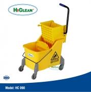 Xe vắt nước lau nhà 1 xô HiClean HC 090