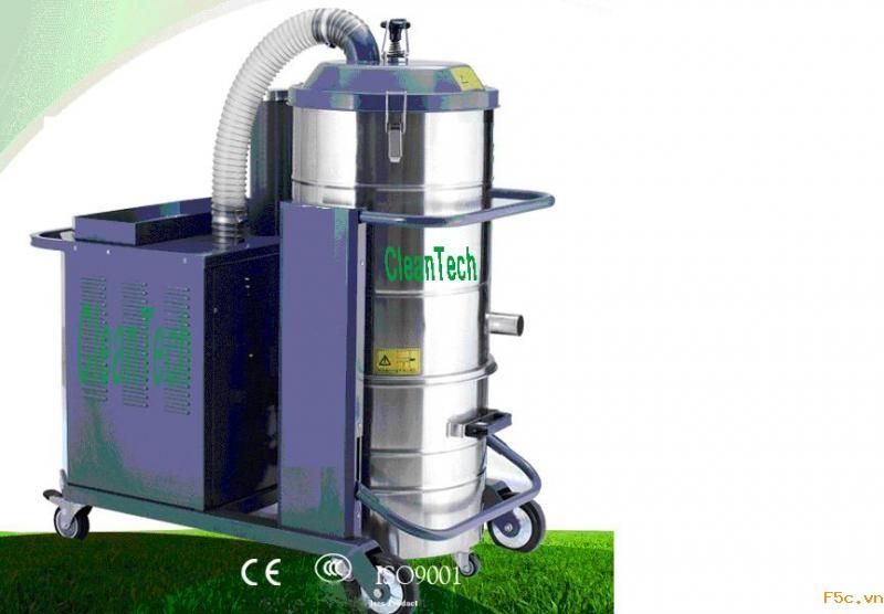 Máy hút bụi công nghiệp chuyên dụng CLEANTECH - 10A