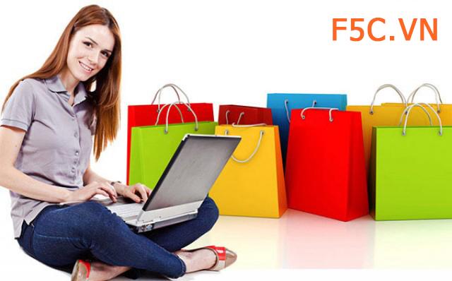 Hướng dẫn mua hàng, đặt hàng trực tuyến tại F5c