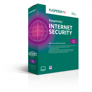 Phần mềm diệt virus Kaspersky Internet security 2015 1 PC