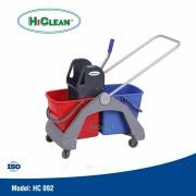 Xe vắt nước lau nhà 2 xô HiClean HC 092