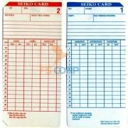 Thẻ giấy chấm công (100 thẻ/xấp)
