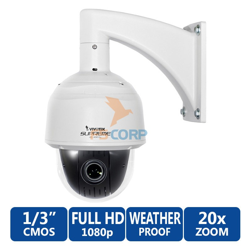 Camera Vivotek SD8363E 1080p HD Dome Network Camera