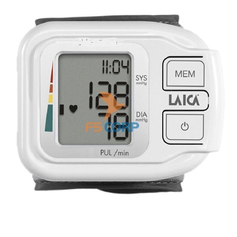Máy đo huyết áp điện tử cổ tay LAICA BM1004