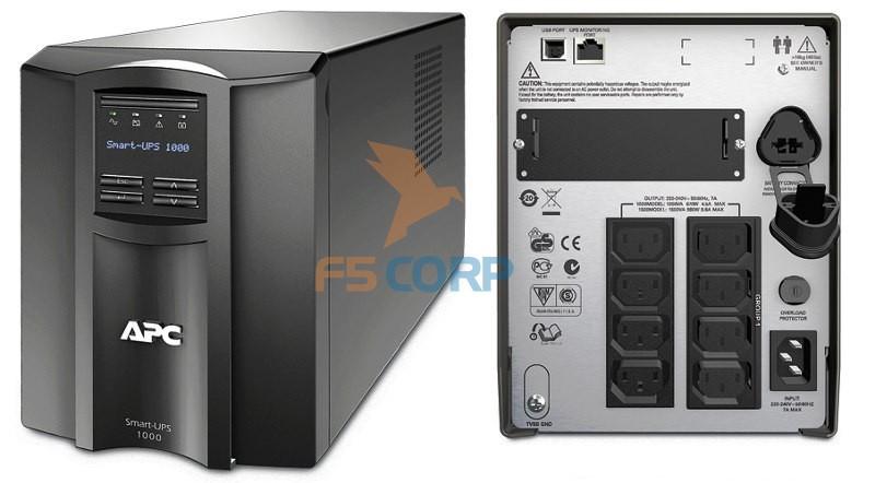 Bộ lưu điện APC Smart-UPS 1000VA LCD 230V (SMT1000I)