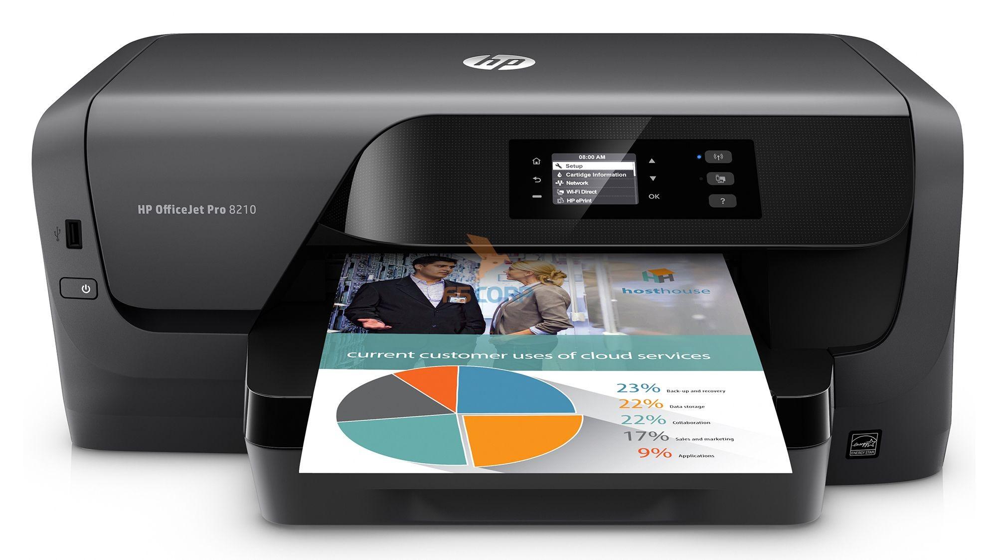 Máy in phun màu HP Officejet Pro 8210
