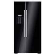 Tủ lạnh Bosch Side by Side  KAD62S51 kính đen