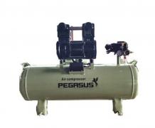 Máy nén khí không dầu giảm âm Pegasus TM- OF1500- 70L