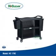 Xe đẩy phục vụ bàn HiClean HC 179C