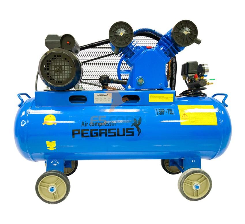 Máy nén khí dây đai Pegasus TM-V-0.25/8-180L (380V)