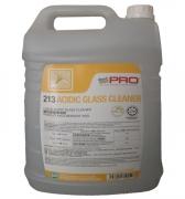 Dung dịch hóa chất tẩy cặn canxi và vết ố Goodmaid G213 ACIDIC GLASS CLEANER Made in Malaysia