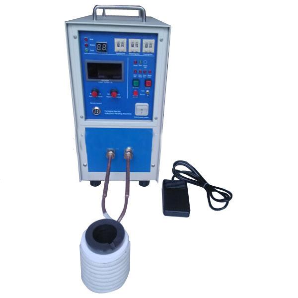 Lò nấu vàng điện cao tần Mini cảm ứng nóng chảy ZKTecom HU-1110
