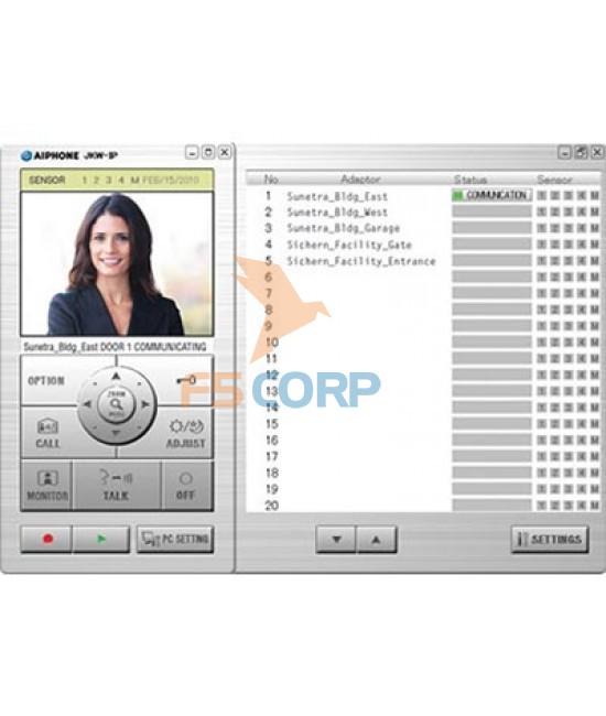 Bộ kết nối internet cho chuông cửa Aiphone JKW-IP