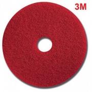 Pad chà sàn 3M 20 inch đỏ thùng 5 cái