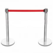 Cọc inox có dây chắn màu đỏ 30SH-QP8200SG-R