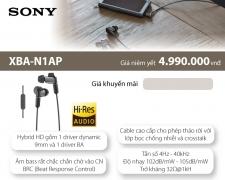 Tai nghe cao cấp Sony XBA-N1AP