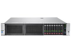 Máy chủ HP ProLiant DL380 Gen9 E5-2623v3 1P 8GB-R B140i 8SFF SATA 500W PS CTO Server