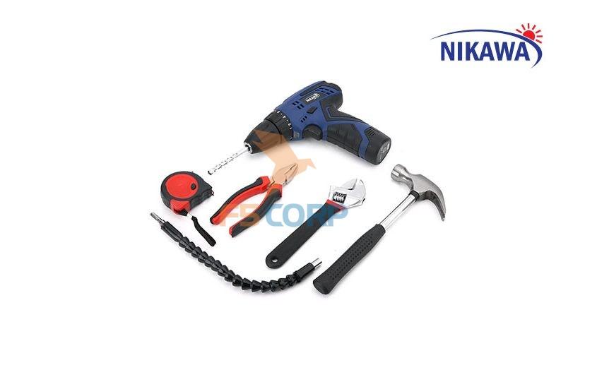 Bộ khoan vặn vít không dây Nikawa NK-F91B