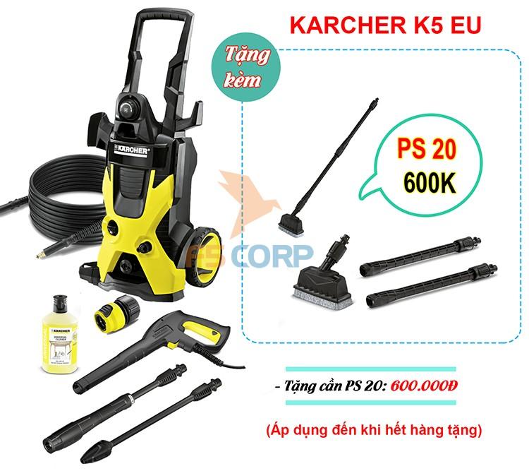 Máy phun áp lực Karcher K5 EU mã  1.180-633.0