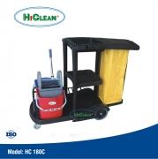 Xe đẩy dọn phòng HiClean HC 180C