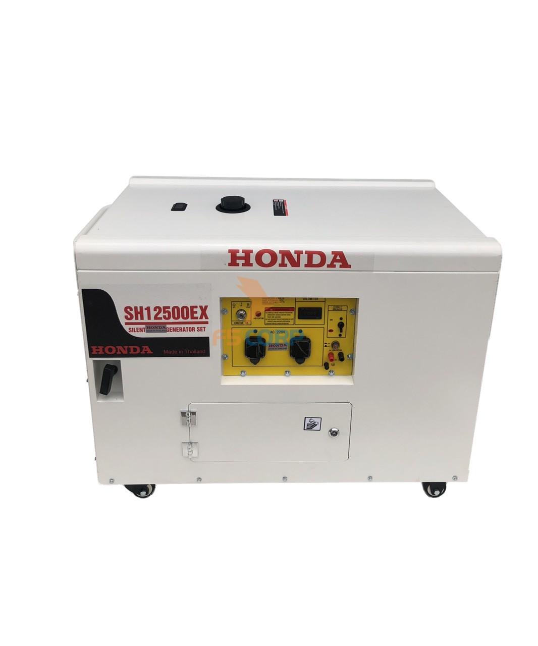 Máy phát điện xăng Honda SH 12500EX (chống ồn)