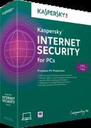 Phần mềm diệt virus Kaspersky Internet security 2015 3 PC