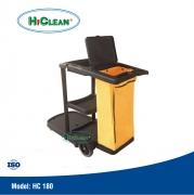 Xe đẩy dọn phòng HiClean HC 180