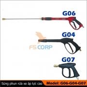 Súng phun rửa xe áp cao G06-G04-G07