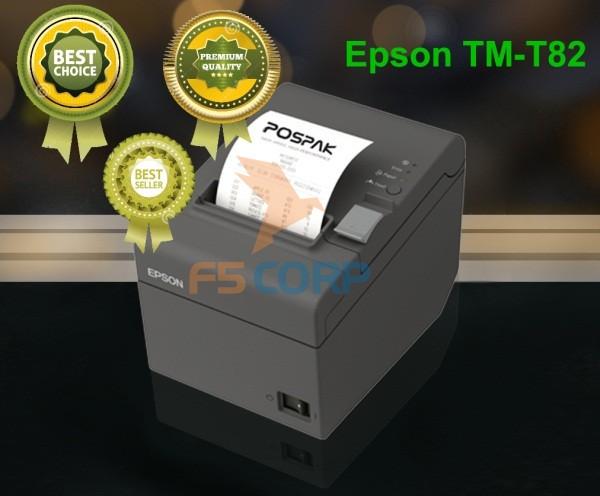 Máy in nhiệt Epson TM-T82 Cổng kết nối: USB