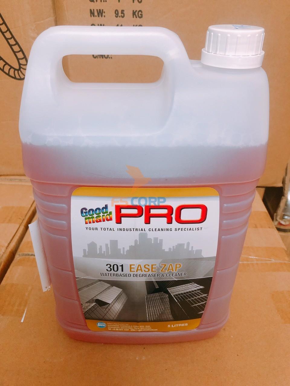 Dung dịch tẩy rửa dầu mỡ cơ khí, làm sạch giàn lạnh Goodmaid G301 - Can 5 Lít Nhập Malaysia