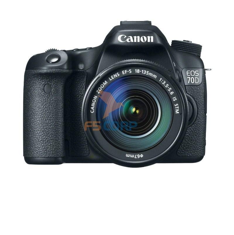 Máy ảnh Canon 70d kit 18-135 STM