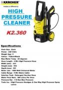 Máy phun rửa xe áp lực Karcher K2.360 *KAP (1.601-686.0)