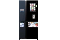 Tủ lạnh Sharp Inverter 665 lít SJ-F5X75VGW-BK