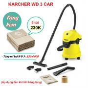 Máy hút bụi - nước và thổi Karcher WD 3 CAR