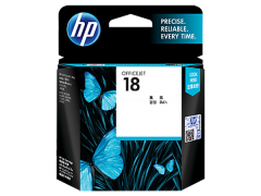 Mực máy in HP 18 Cyan Ink Cartridge (C4937A)